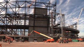 Raiders Stadium Timelapse