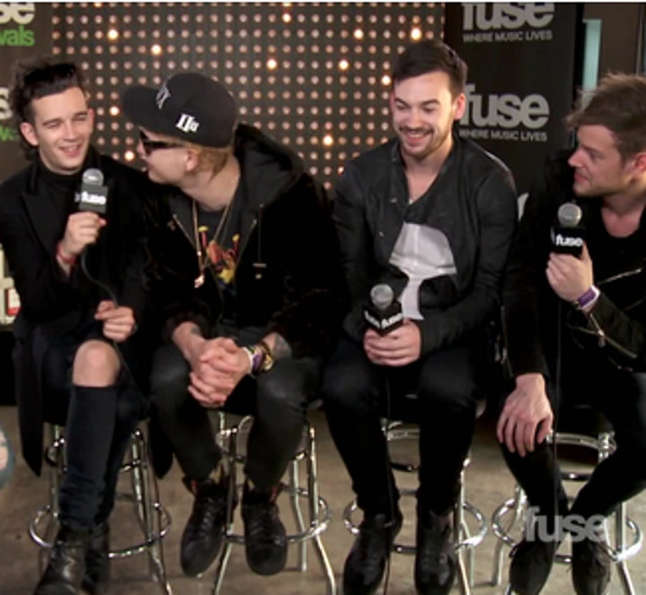 """The 1975 on Their Self-Titled Debut Album & """"Human Carnage"""" - SXSW 2014"""