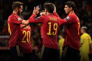 España receta paliza a Rumania y asegura la cabeza de serie en la Eurocopa 2020