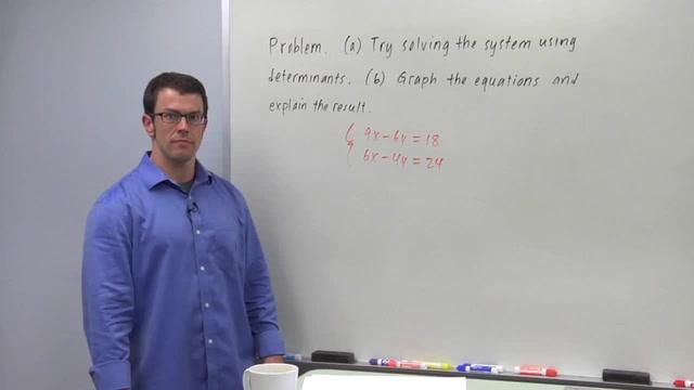 Cramer's Rule - Problem 1