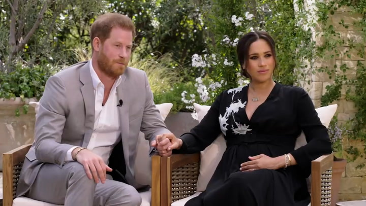 Prince Harry tells Oprah he feared history repeating itself