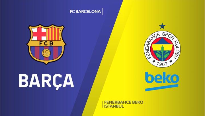 El resumen del FC Barcelona - Fenerbahce (89-63) de Euroliga