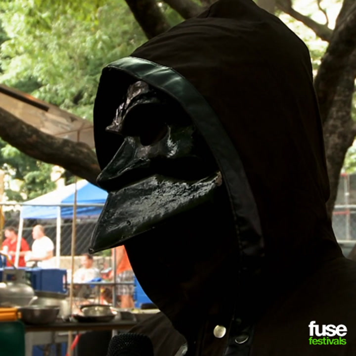 Ghost Talk Full-Frontal Nudity at Lollapalooza 2013