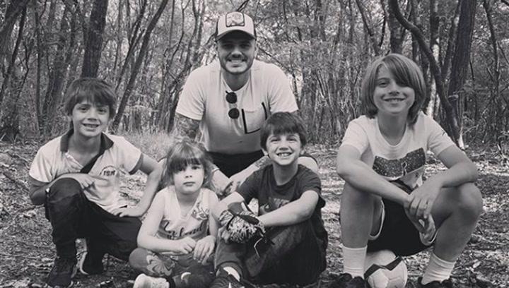 """Icardi y sus hijos se lo pasan a lo grande: """"¡Diez días sin mamá!"""""""