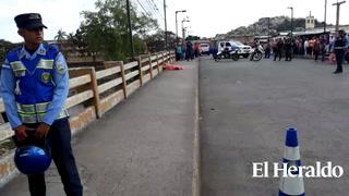 Acribillan a una persona de sexo masculino en puente Soberanía