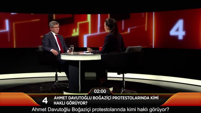 Jülide Ateş ile 40 - Ahmet Davutoğlu Boğaziçi protestolarında kimi haklı görüyor?