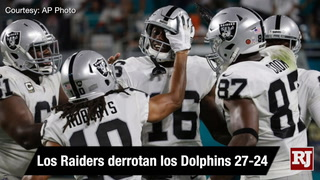 Vegas Nation: The Raiders defeat the Dolphins 27-24