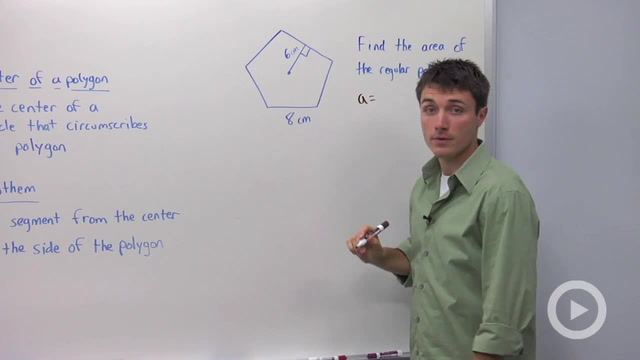 Area of Regular Polygons - Problem 1