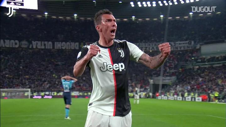 Último gol de Mandzukic pela Juventus