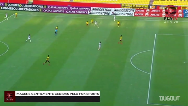 Flamengo Beat Barcelona Sc At Ecuador Dugout