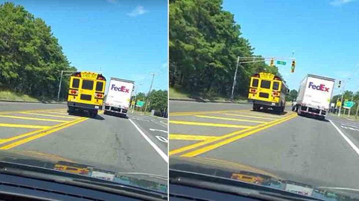 Bussjåføren grisekjørte med skolebussen – fikk sparken på dagen