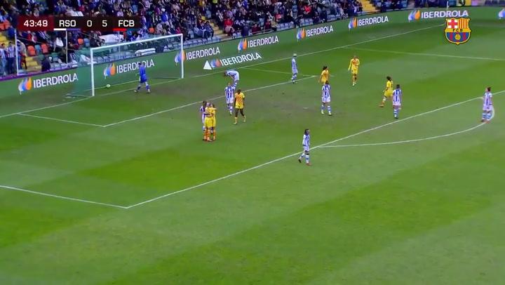 Final de la Supercopa Femenina de fútbol: Alexia Putellas marca el 0-6