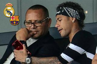 Padre de Neymar mueve las redes y podría ir aclarando el futuro del brasileño