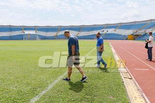 Fabián Coito sobre su visita al estadio Olímpico: