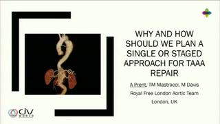 Comment et pourquoi programmer un traitement séquentiel des procédures endovasculaires aortiques complexes ?