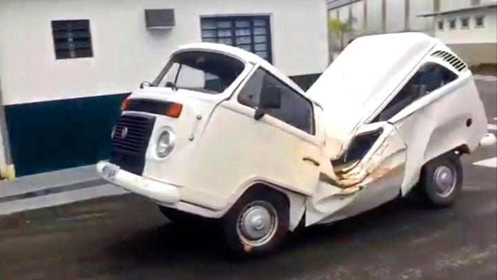 Der ingen skulle tro at bilen fortsatt fungerte