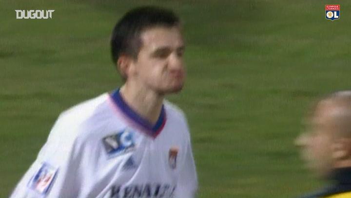 OL best goals vs Metz at home