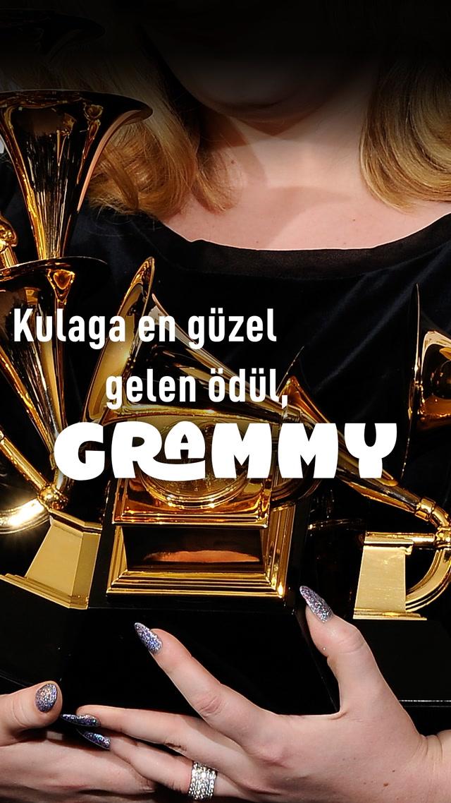 Kulağa en güzel gelen ödül, Grammy.