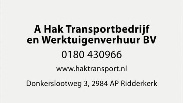 Hak Transport Kraanverhuur Graafmachine Verhuur BV