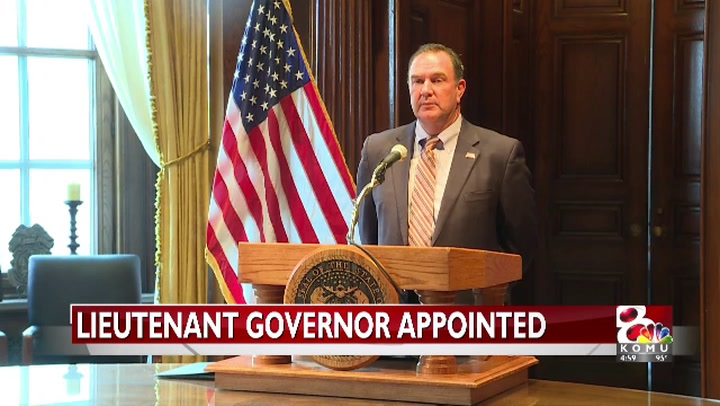 GOP state senator appointed Missouri lieutenant governor