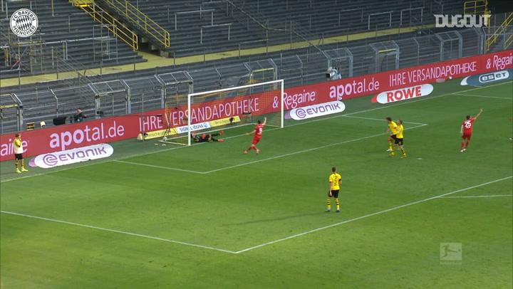 Joshua Kimmich's brilliant chip to beat Dortmund