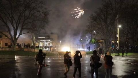 Tensión y detenidos en Minneapolis por joven afroestadounidense muerto a manos de policía