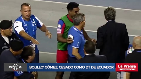 'Bolillo' Gómez, cesado como DT de Ecuador