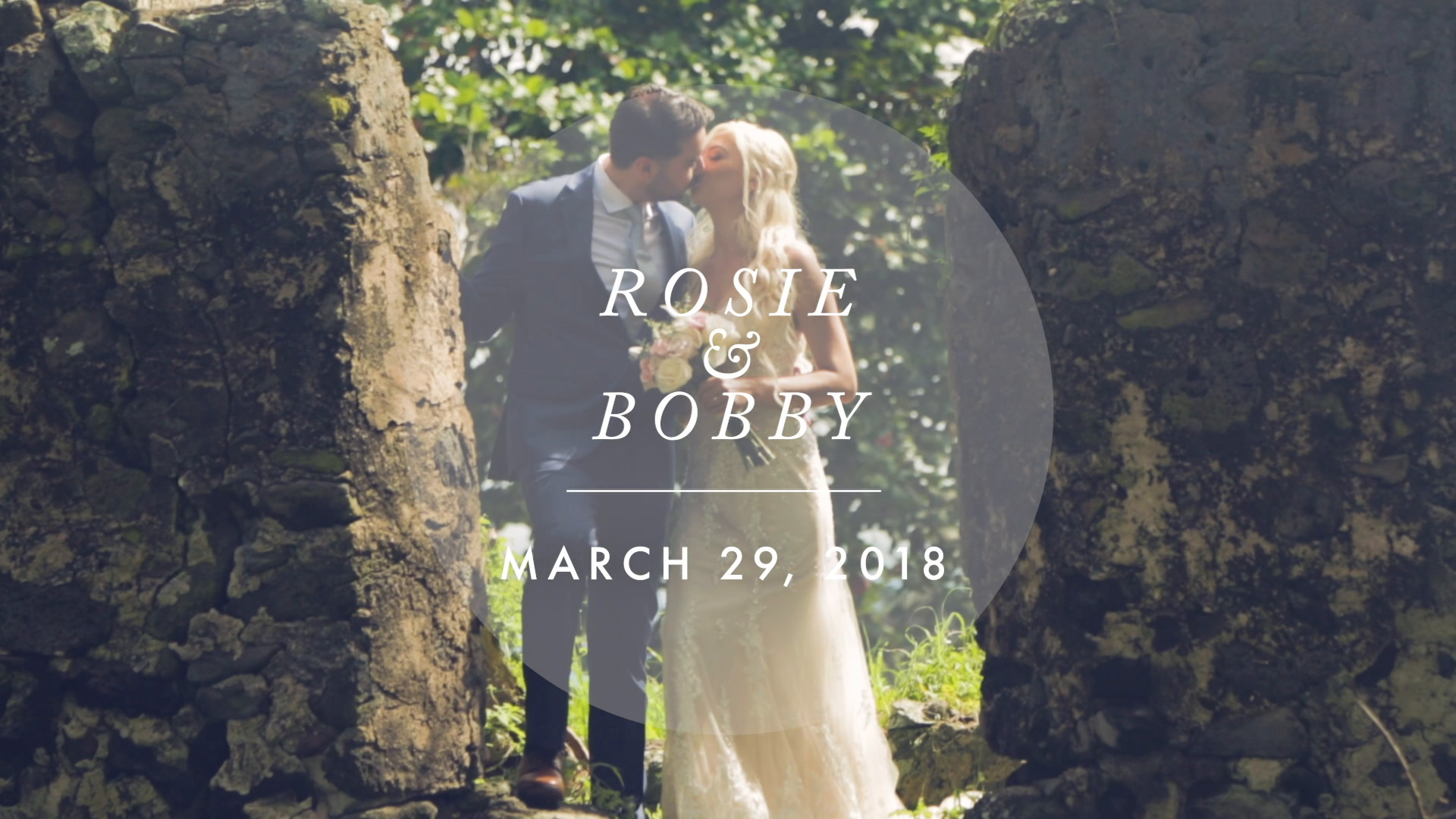Rosie + Bobby | Kaaawa, Hawaii | Paliku Gardens at Kualoa Ranch