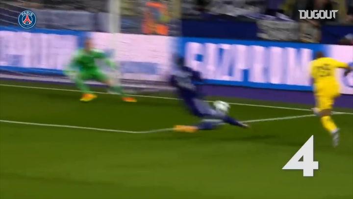 Kylian Mbappé's 100 goals with Paris Saint-Germain