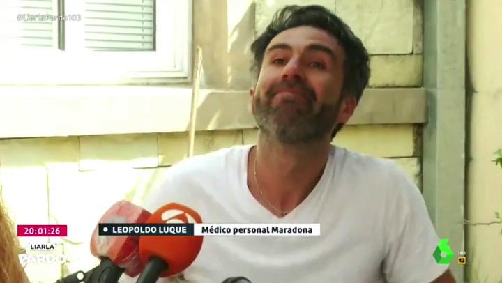 El médico de Maradona se defiende y cuenta todo entre lágrimas
