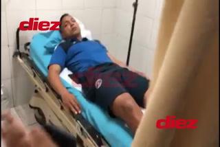 Emilio Izaguirre, Roberto Moreira y Jonathan Rougier fueron los jugadores heridos