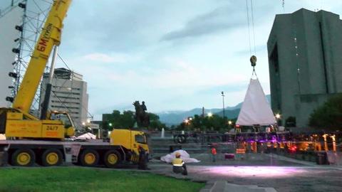 Una acróbata argentina murió tras caer desde 10 metros de altura durante un ensayo