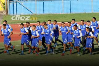 Selección de Honduras realiza su primer entreno bajo el mando de Fabián Coito