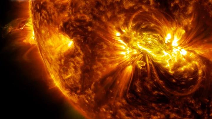 Største solutbrudd på 24 år