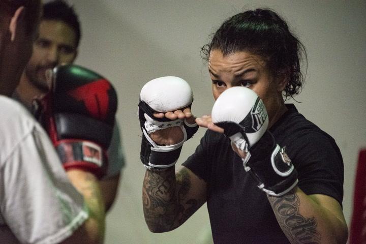UFC bantamweight title challenger Raquel Pennington