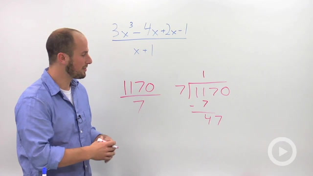 Dividing Polynomials using Long Division