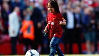 Superstjernas datter sjarmerer hele Anfield