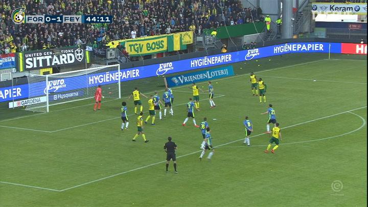 Fortuna Sittard's greatest goals against Feyenoord