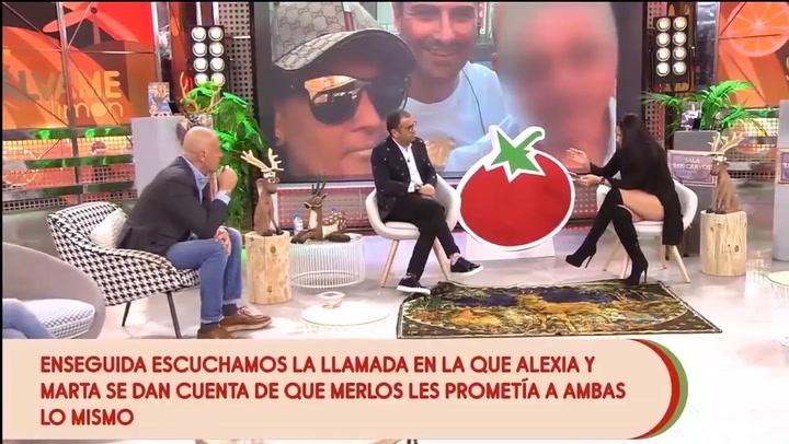 Según Gema Serrano, Alfonso Merlos se maquilla para ir a la playa