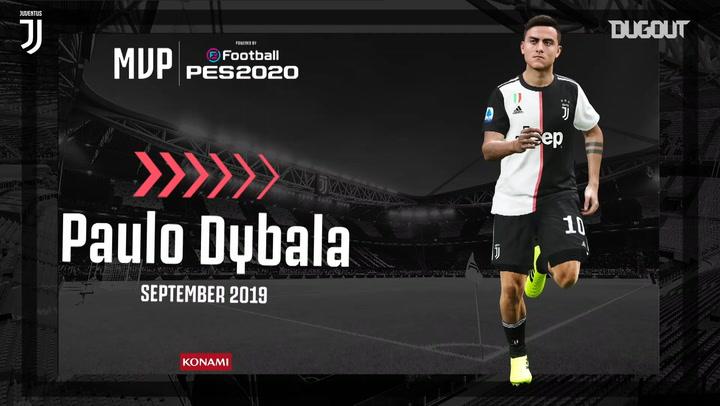 PAULO DYBALA WINS JUVENTUS SEPTEMBER MVP