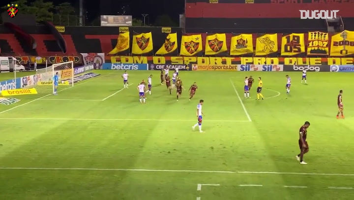 All the goals from Sport Recife's victory over Bahia in the Brasileirão Serie A 2020