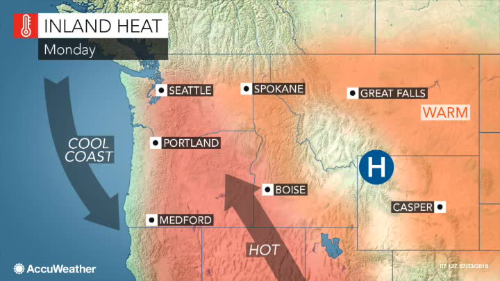 Intense heat wave hits Western states