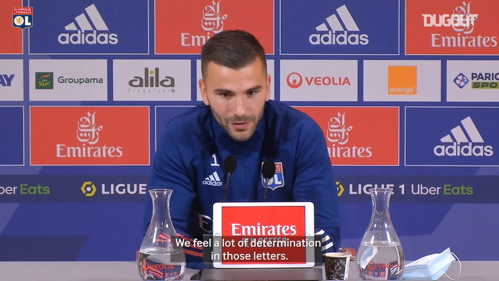 Anthony Lopes : It brings us a lot of courage