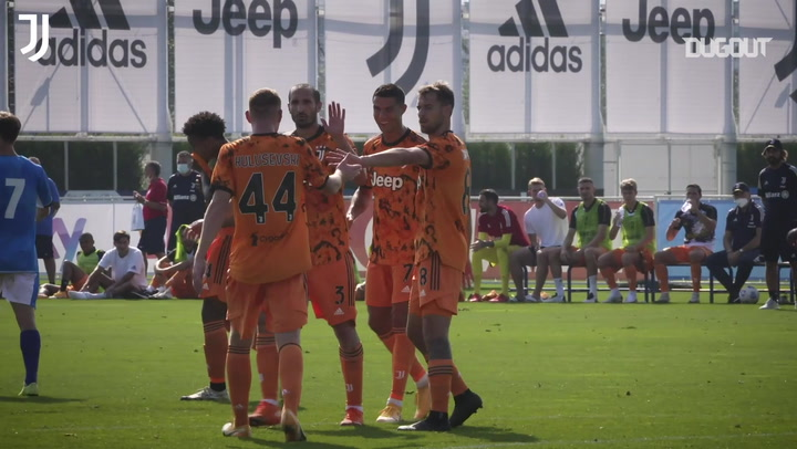 Cristiano Ronaldo scores first goal of 2020-21 in Juventus friendly win