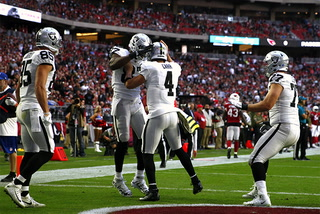 Gruden, Carr discuss the Raiders 23-21 win
