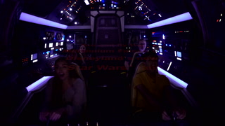 Millennium Falcon: Smugglers Run at Disneyland – VIDEO