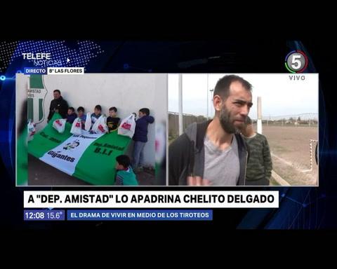 Chelito Delgado: No podemos cambiar lo que pasa en el barrio