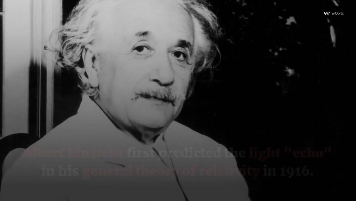 Einstein's theory about light 'echoing' around black holes confirmed by researchers