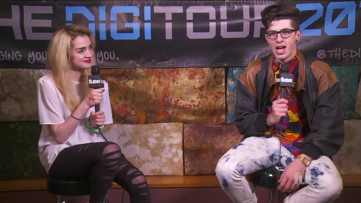 """Interviews: Artist ton Artist: YouTube Stars Poppy & Sam Pepper Chat New Music, Translate Phrase """"Turnt Up"""""""