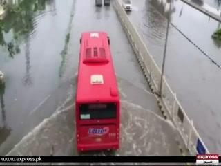 لاہور سمیت پنجاب میں موسلا دھار بارشیں۔۔۔۔ کئی علاقوں میں پانی جمع